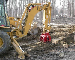 Hudco Compactor drivers for backhoe or excavator